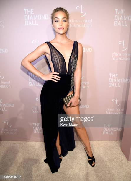 Jasmine Sanders attends Rihanna's 4th Annual Diamond Ball benefitting The Clara Lionel Foundation at Cipriani Wall Street on September 13 2018 in New...