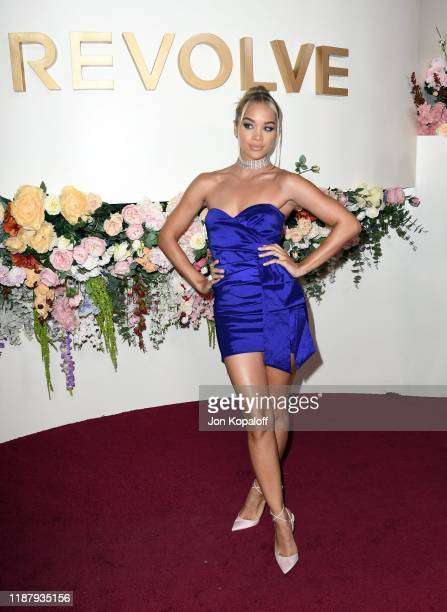 Jasmine Sanders attends the 3rd Annual #REVOLVEawards at Goya Studios on November 15 2019 in Hollywood California