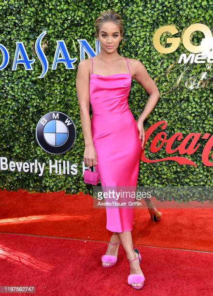 Jasmine Sanders attends the 7th Annual Gold Meets Golden at Virginia Robinson Gardens and Estate on January 04 2020 in Los Angeles California