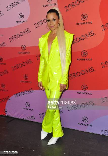 Jasmine Solano attends Refinery29's 29Rooms Los Angeles 2018 Expand Your Reality at The Reef on December 04 2018 in Los Angeles California