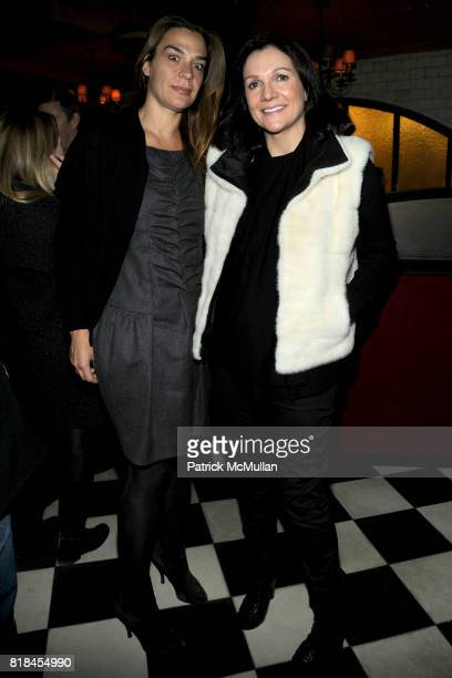 Jasmine Spezie and Leslie Stevens attend Cocktails to Welcome ALEXIS BRYAN MORGAN as the New Fashion Director of ELLE Magazine at Minetta Tavern on...
