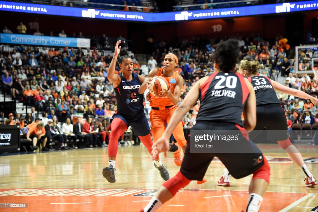 CT: Washington Mystics v Connecticut Sun