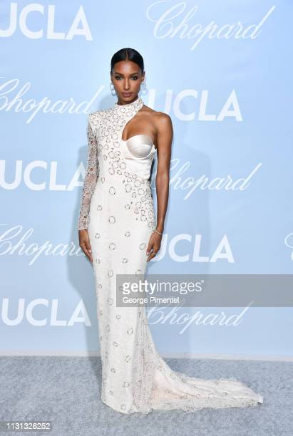 Jasmine Tookes arrives at the 2019 Hollywood For Science Gala at Private Residence on February 21 2019 in Los Angeles California