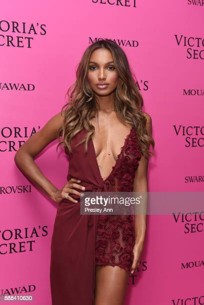 Jasmine Tookes attends 2017 Victoria's Secret Fashion Show In Shanghai After Party at MercedesBenz Arena on November 20 2017 in Shanghai China