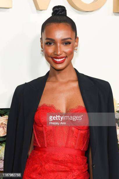Jasmine Tookes attends 3rd Annual #REVOLVEawards at Goya Studios on November 15 2019 in Hollywood California