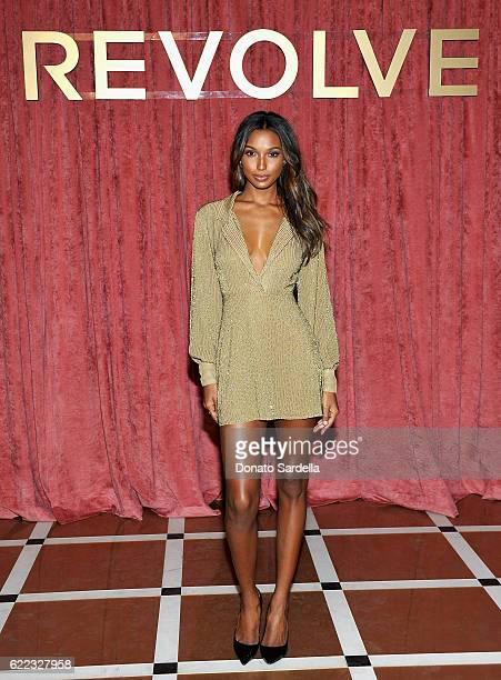 Jasmine Tookes attends REVOLVE Winter Formal 2016 on November 10 2016 in Los Angeles California