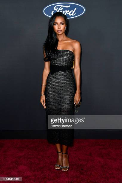 Jasmine Tookes attends the 51st NAACP Image Awards Presented by BET at Pasadena Civic Auditorium on February 22 2020 in Pasadena California