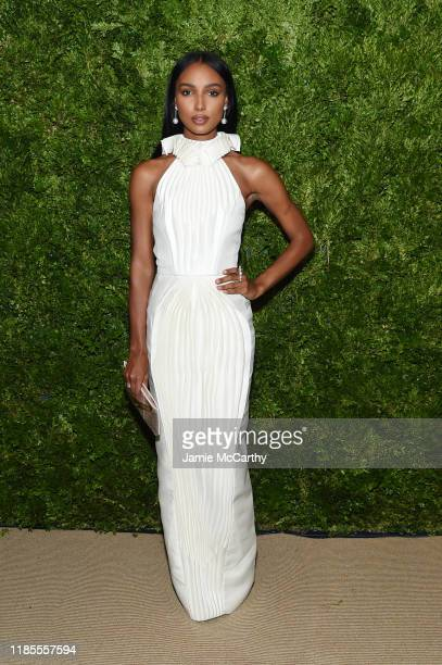 Jasmine Tookes attends the CFDA / Vogue Fashion Fund 2019 Awards at Cipriani South Street on November 04 2019 in New York City