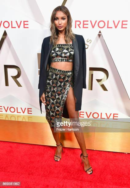 Jasmine Tookes attends the #REVOLVEawards at DREAM Hollywood on November 2 2017 in Hollywood California