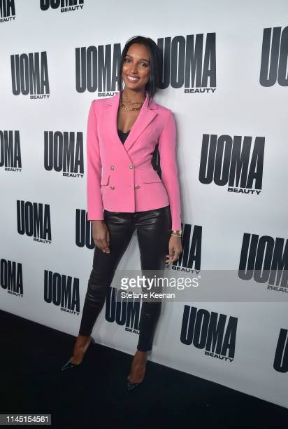 Jasmine Tookes attends UOMA Beauty Launch Event at NeueHouse Hollywood on April 25 2019 in Los Angeles California