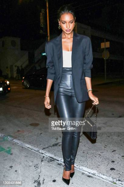 Jasmine Tookes is seen on March 05 2020 in Los Angeles California
