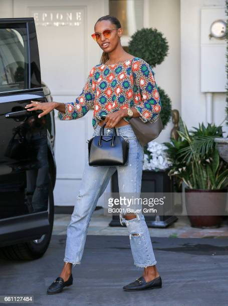 Jasmine Tookes is seen on March 30 2017 in Los Angeles California