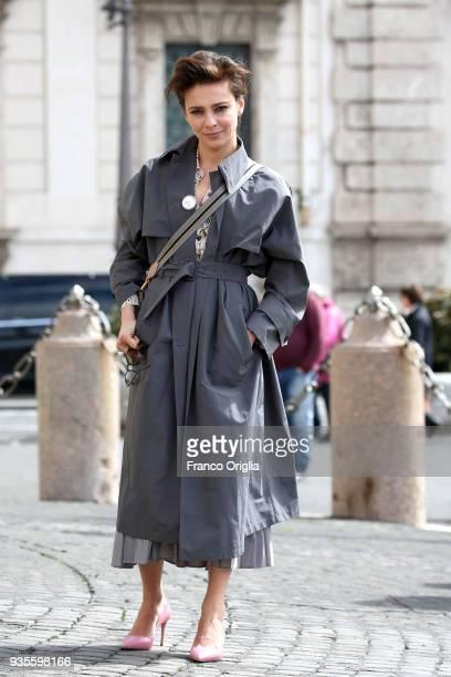 Jasmine Trinca arrives for the David Di Donatello nominees presentation at Palazzo del Quirinale on March 21 2018 in Rome Italy