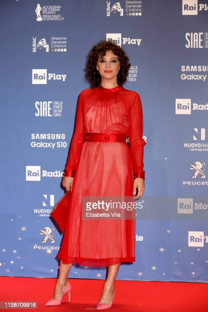 Jasmine Trinca attends the 64 David Di Donatello awards on March 27 2019 in Rome Italy