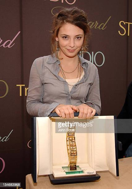 Jasmine Trinca, award winner during 2006 Cannes Film Festival - The Chopard Trophy Award-Winners - Press Conference at The Majestic in Cannes, France.