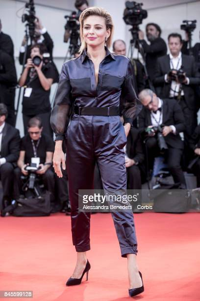 Jasmine Trinca walks the red carpet ahead the Award Ceremony of the 74th Venice Film Festival at Sala Grande on September 9 2017 in Venice Italy...