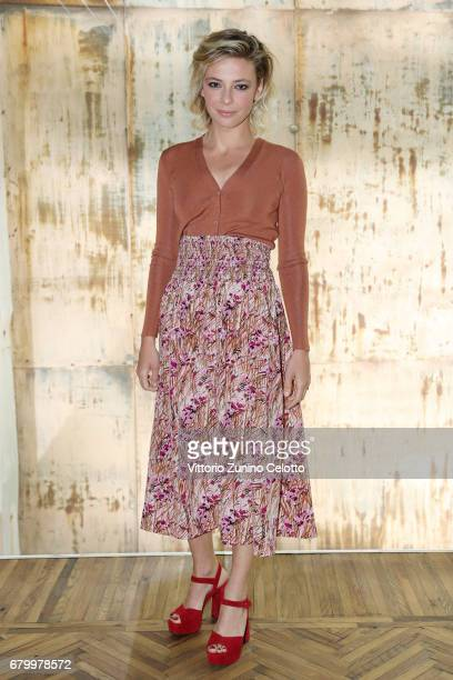 Jasmine Trinca while attending the Prada Resort 2018 Womenswear Show in Osservatorio on May 7 2017 in Milan Italy