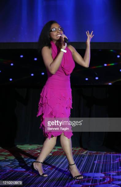 Jasmine Turner speaks during Jackie Robinson Foundation Robie Awards Dinner at Marriot Marquis on March 02 2020 in New York City