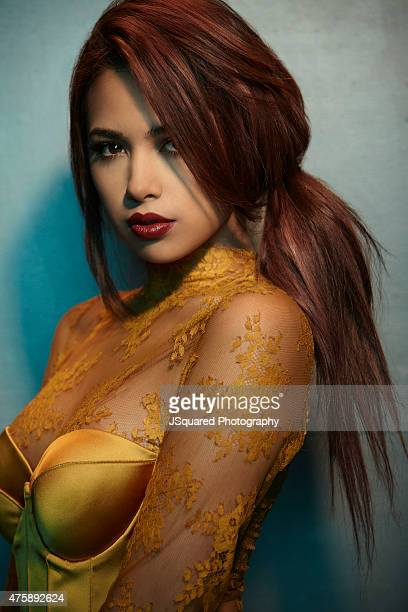 Jasmine Villegas for Glamoholic on January 20 2015 in Los Angeles California