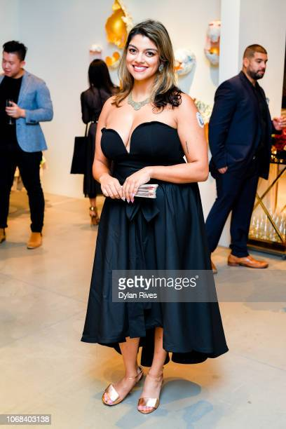 Jasmine Wahi attends the National YoungArts Foundation Miami Art Week Supper Club at YoungArts on December 3 2018 in Miami Florida