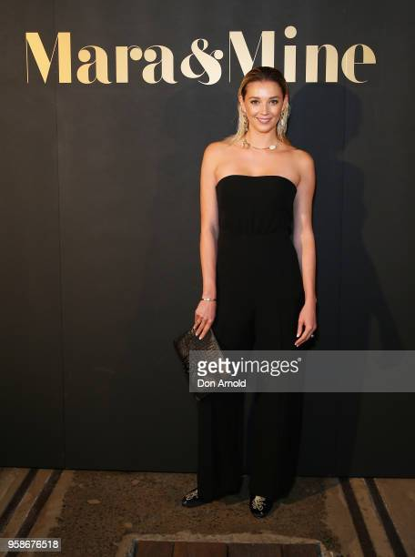 Jasmine Yarbrough arrives ahead of the Mara Mine at MercedesBenz Fashion Week Resort 19 Collections at Carriageworks on May 15 2018 in Sydney...