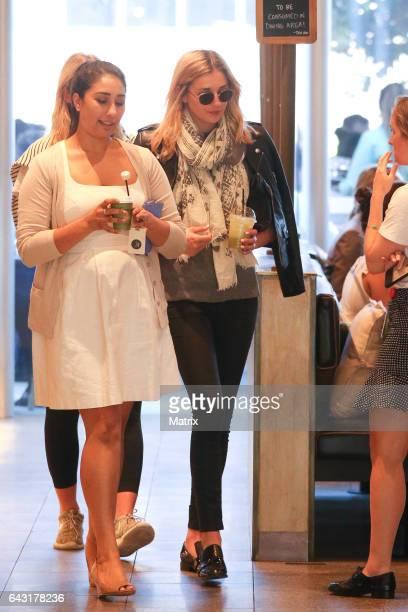 Jasmine Yarbrough is seen on February 16 2017 in Sydney Australia