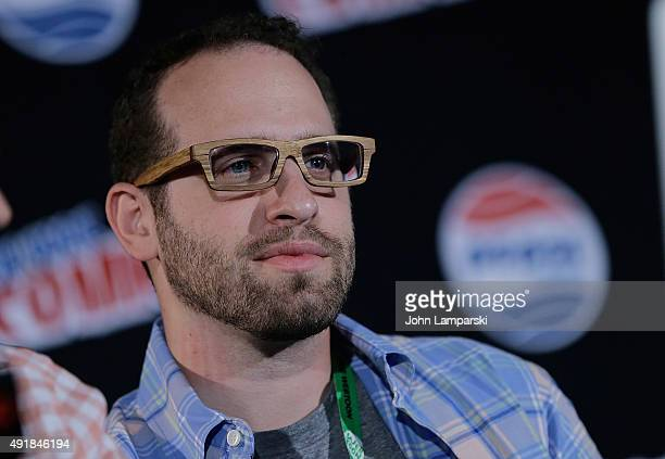 Jason Aaron of Back to the Future attends New York ComicCon 2015 Day 1 at The Jacob K Javits Convention Center on October 8 2015 in New York City