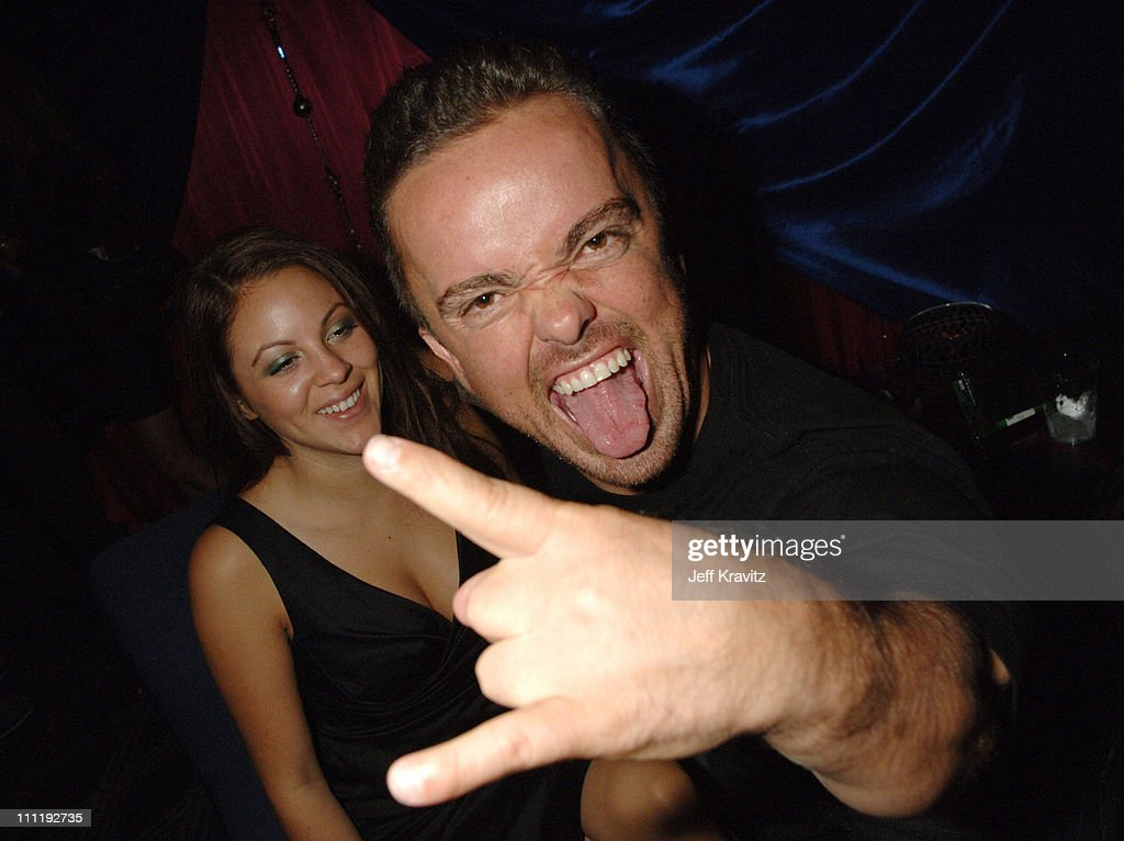 Jason Acuna (Wee Man) of Jackass and guest during 2006 MTV Video Music Awards - Backstage at Radio City Music Hall in New York, New York, United States.