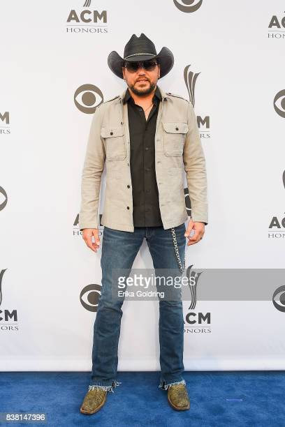 Jason Aldean attends the 11th Annual ACM Honors at the Ryman Auditorium on August 23 2017 in Nashville Tennessee