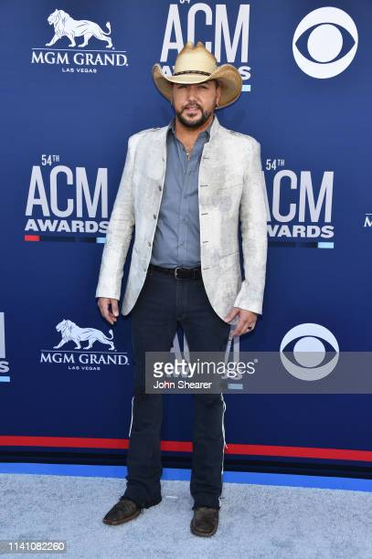 Jason Aldean attends the 54th Academy Of Country Music Awards at MGM Grand Hotel & Casino on April 07, 2019 in Las Vegas, Nevada.