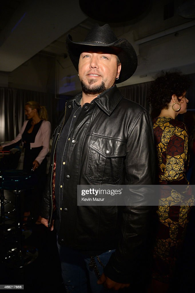 Jason Aldean attends the Tidal launch event #TIDALforALL at Skylight at Moynihan Station on March 30, 2015 in New York City.