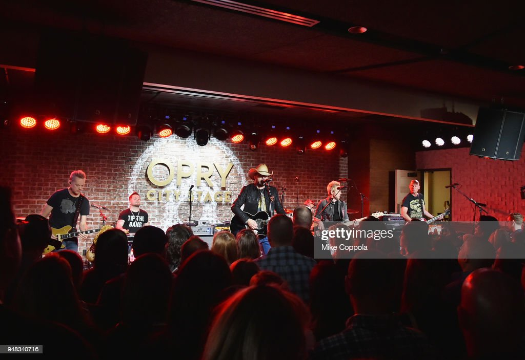 Jason Aldean Performs Live On SiriusXM's The Highway From The Opry City Stage In New York City