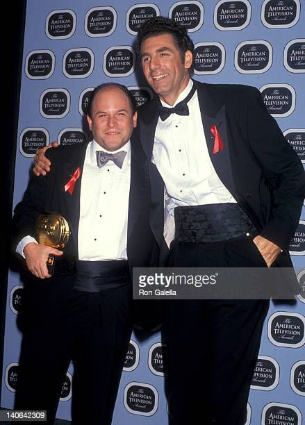 Jason Alexand and Michael Richards at the 1993 American Television Awards The Barker Hangar at Santa Monica Air Center Santa Monica