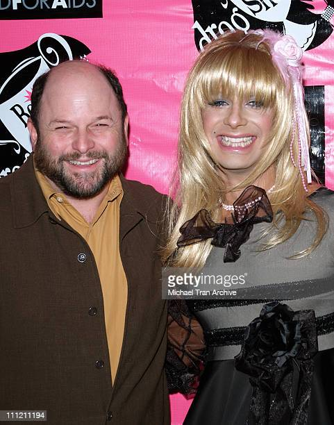 Jason Alexander and Goldie from The Dobermans during 4th Annual Best in Drag Show to Benefit Aid for AIDS at WilshireEbell Theater in Los Angeles...