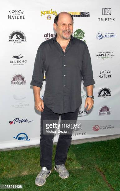 Jason Alexander attends Kiss The Ground Los Angeles DriveIn Special Screening at Andaz West Hollywood on September 17 2020 in West Hollywood...