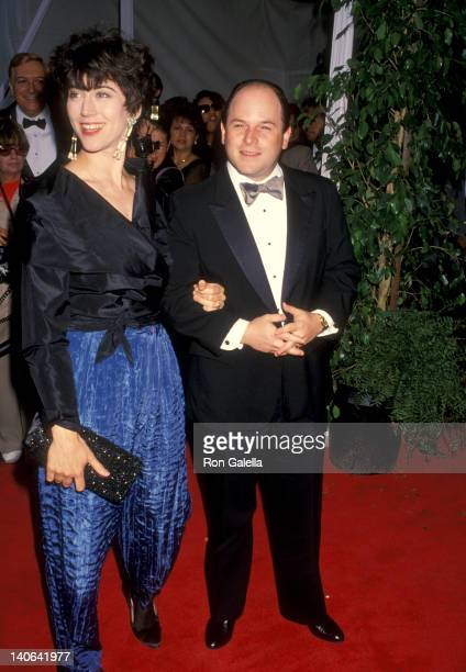 Jason Alexander Daena Title at the 1993 American Television Awards The Barker Hangar at Santa Monica Air Center Santa Monica