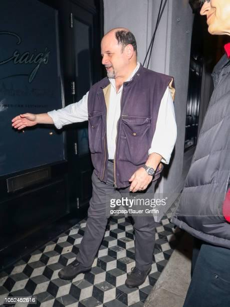 Jason Alexander is seen on October 17 2018 in Los Angeles California