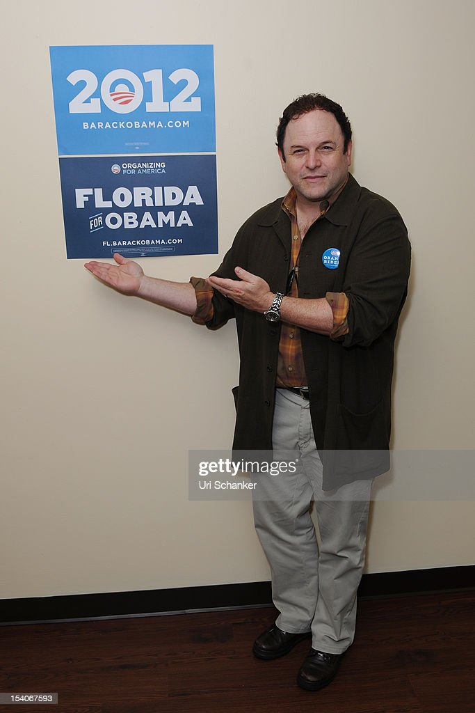 Jason Alexander joins OFA-Florida for Medicare Round Table with Boca Raton Seniors at the Mae Volen Center on October 13, 2012 in Boca Raton, Florida.