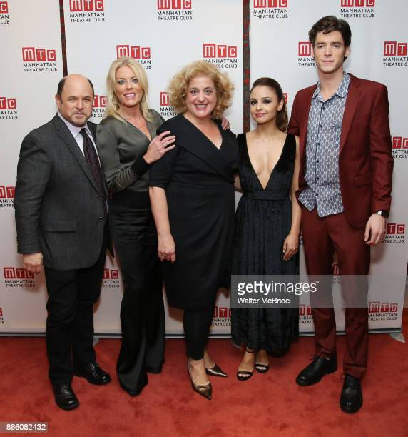 Jason Alexander Sherie Rene Scott Mary Testa Aimee Carrero Pico Alexander attend the Manhattan Theatre Club's Opening Night Party for 'The Portuguese...