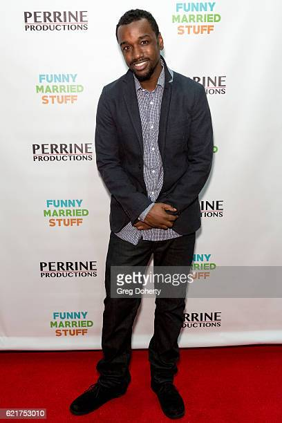 Jason Allen arrives for the Screening Of Perrine Productions' 'Funny Married Stuff' at the ACME Comedy Theatre on November 7 2016 in Los Angeles...