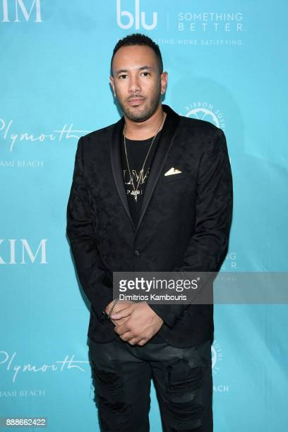 Jason Amos attends the Maxim December Miami Issue Party Presented by blu on December 8 2017 in Miami Beach Florida