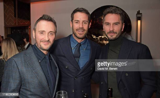 Jason Atherton Jamie Redknapp and guest attend the launch Party of The Biltmore Mayfair LXR Hotels Resorts and The Betterment by Jason Atherton on...