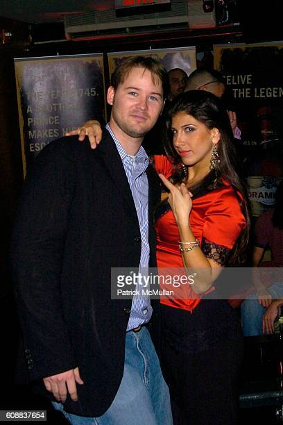 Jason Augustine and Linda Michelle attend Drambuie Den Event with Special Guest Heather Vandeven at Level V on October 22 2007 in New York