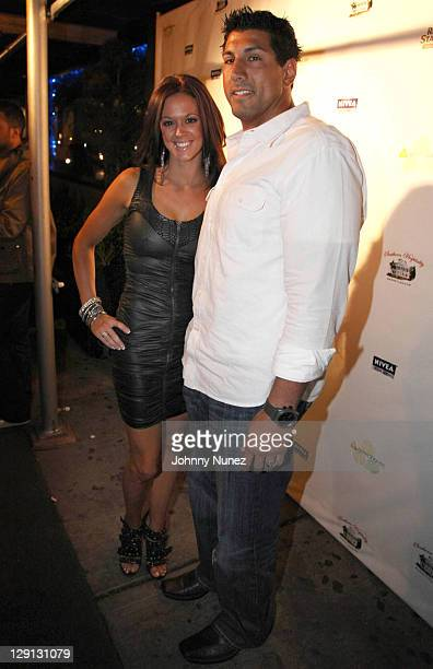 Jason Babin of the Tennessee Titans and guest attend the Welcome to the League Dinner at Greenhouse on April 28 2011 in New York City