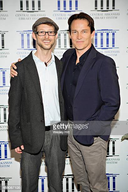 """Jason Baldwin and Stephen Moyer attends the """"Devil's Knot"""" premiere at the CALS Ron Robinson Theater on May 03, 2014 in Little Rock, Arkansas."""
