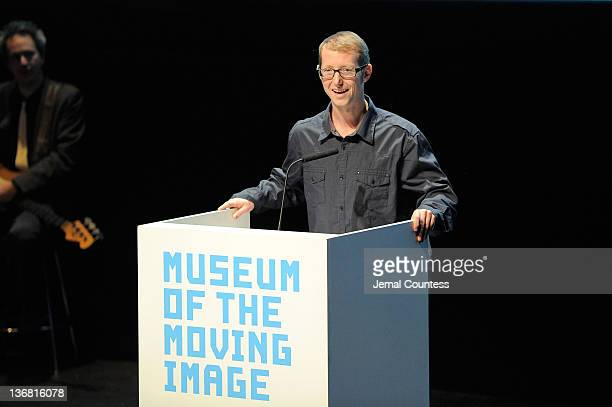 Jason Baldwin speaks onstage during the 5th Annual Cinema Eye Honors for Nonfiction Filmmaking at the Museum of the Moving Image on January 11 2012...