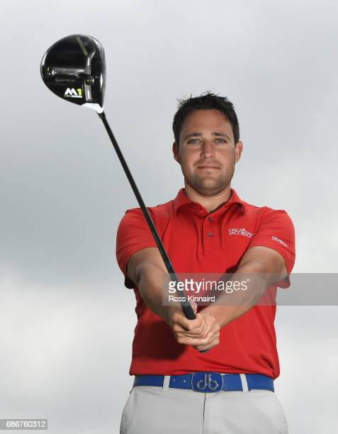 Jason Barnes of England poses for a portrait during the first round of Andalucia Costa del Sol Match Play at La Cala Resort on May 18 2017 in La Roda...
