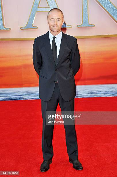 Jason Barry attends the 'Titanic 3D' world premiere at the Royal Albert Hall on March 27 2012 in London England