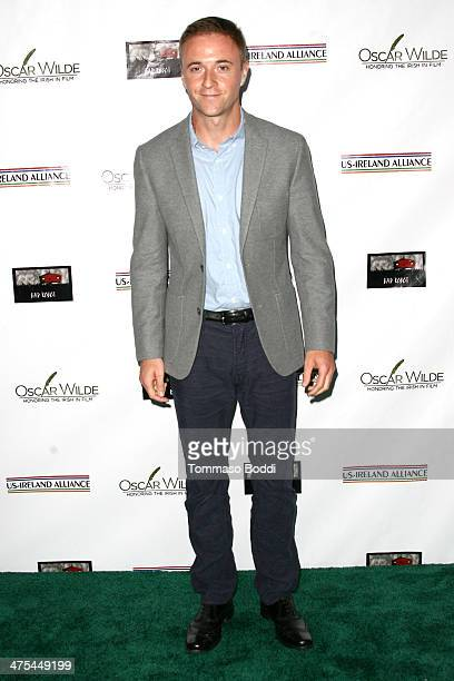 Jason Barry attends the USIreland alliance preAcademy Awards event held at Bad Robot on February 27 2014 in Santa Monica California