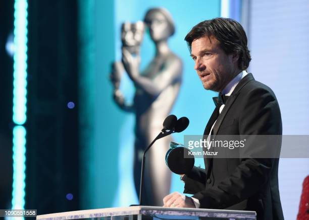 Jason Bateman accepts Outstanding Performance by a Male Actor in a Drama Series for 'Ozark' onstage during the 25th Annual Screen ActorsGuild Awards...
